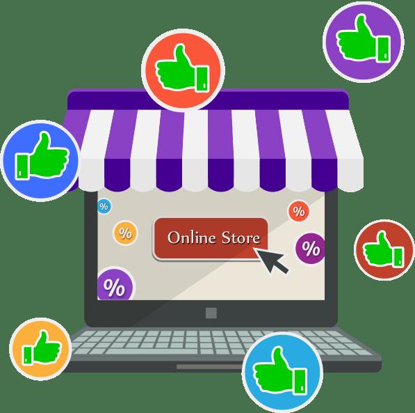 انشاء متجر الكتروني